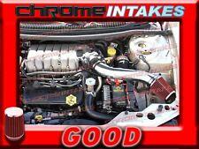BLACK RED 95-00 DODGE STRATUS/CHRYSLER SEBRING/CIRRUS 2.5L V6 LONG AIR INTAKE 2