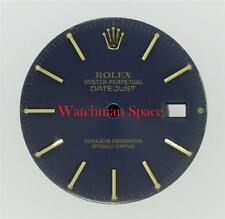 Original Men's Rolex Datejust Quickset 16013 16238 16233 Royal Blue Dial 2T #D34