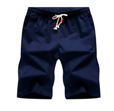 Navy Blue Shorts Mens M Medium
