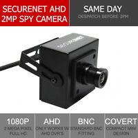 Securenet HD-S120 1080P Sony 2MP HD CCTV Covert Hidden Spy Camera 3.6mm UK