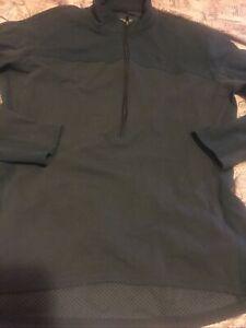 Cannondale Feel It Cycling 1/2 Zip Jacket Women's Sz M Light Navy Blue