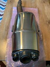 Triumph Daytona 675 2009-2012 Stock Muffler w/ Carbon Fiber End Cap
