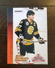 1993-94 Pinnacle All-Stars #48 Ray Bourque Boston Bruins Hockey Card
