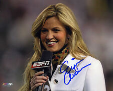 Erin Andrews signed 8x10 color photo FOX Sports DWTS (E)