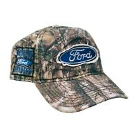 Ford Built Tough Official Licensed Hat Cap Truck Full Real Tree Xtra Camo FRD04A