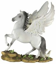 "Pegasus Winged Horse Figurine 13"" High Resin Nib"