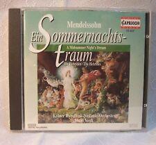 MENDELSSOHN KOLNER RUNDFUNK HANS VONK GERMAN CD