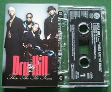 Dru Hill These Are The Times Cassette Tape Single - TESTED