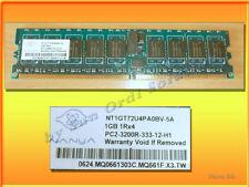 Memoire Nanya 1GB 1Rx4 PC2-3200R-333-12-H1