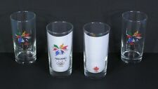 * 4 Genuine 1998 NAGANO Japan Winter OLYMPICS Glasses w/ Team Canada Logo NEW *