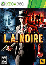 L.A. Noire (Microsoft Xbox 360, 2011) DISC IS MINT