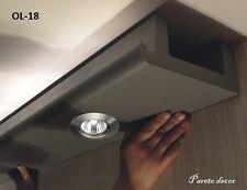 32 Metros + Corners Luz LED Bebauung Moldura de Estuco Para Iluminación