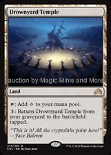Shadows Over Innistrad ~ DROWNYARD TEMPLE rare Magic the Gathering card