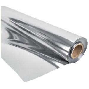 Indoor Grow Silver Reflective Mylar Sheeting 1.2m x 50M