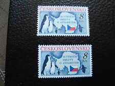 TCHECOSLOVAQUIE - timbre yvert et tellier n° 2886 x2 n** (A33) stamp (Z)