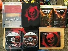 Gears of War -- Limited Collector's Edition Xbox 360 Complete Game Art Book