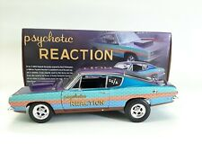 1/18 Psychotic Reaction 1968 Plymouth Barracuda 1 of 252