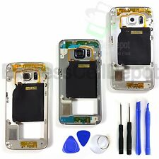 Replacement Metal Mid Frame Bezel for Samsung Galaxy S6 EDGE Camera Lens & More!