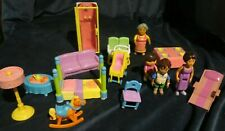 sh7 Dora The Explorer Doll House Castle Furniture And Figure Lot