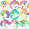 144 Rainbow Unicorns 30 mm Reward Stickers for School Teachers, Parents, Nursery