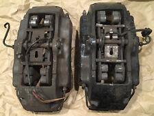 2004 10 Vw Touareg Cayenne 6 Piston Brembo 17z Loaded Brake Calipers Front Pair