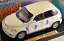 Chrysler GT Cruiser 2001-10 blanc blanc 1:18 Motor Max