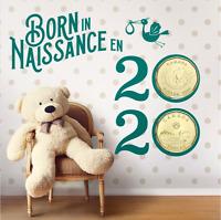 Canada 2020 Baby Gift Coin Set 6 Pcs ($1, $2, $1, 25c, 10c, 5c) UNC