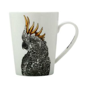 Maxwell & Williams Marini Ferlazzo 450ml Birds Coffee/Tea/Drink Mug/Cup Cockatoo