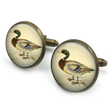 Duck 20mm Cufflinks | British Birds | Duck art ,Gift for Him