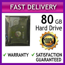 "TESTED 80GB LAPTOP IDE PATA ATA HARD DRIVE DISK HDD HD 2.5"" 9MM WARRANTY"