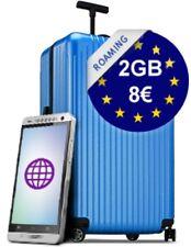 NEW!! 8€ - 2GB INTERNET VODAFONE ROAMING EU SIM CARD EUROPE