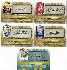 12-13 ITG Corrado Micalef Auto Between The Pipes 2012 Autograph