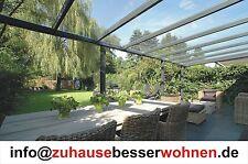 VSG Aluminium Terrassendach Terrassenüberdachung Anlehn Carport Veranda 6x3,5