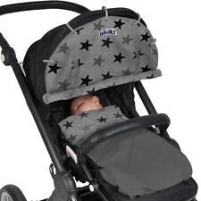 Dooky Universal Parasol Para Cochecito Coche Asiento Pushchair UV40+ protección Estrella Gris