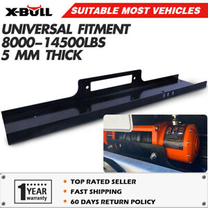 X-BULL Winch Mount Mounting Plate Cradle Steel Universal 8000lb-14500lb Trucks