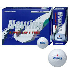 Bridgestone JAPAN Newing Super Soft Feel Golf Ball 1 Dozen White