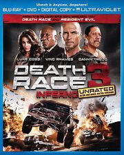 Death Race: Inferno (Blu-ray/DVD, 2013, 2-Disc Set, Includes Digital Copy UltraV