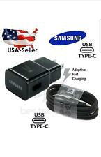 Original Samsung Galaxy Note9 8 S9 S10 Fast Charge Wall Charger Type-C Cable LOT