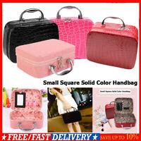 Fashion Makeup Storage Bag Case Jewelry Box Leather Travel Cosmetic Organizer