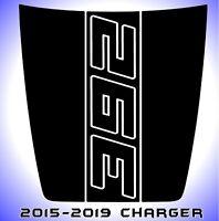 392 Dodge Charger Power Bulge Hood Decal Daytona SRT Hellcat Scat Pack 2015-2019