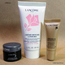 Lancôme Lot of 3 NEW Lotion, Lip Conditioner, Absolut Génifique Yeux Travel Size