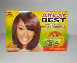 *AFRICA'S BEST HERBAL INTENSIVE DUAL CONDITIONING RELAXER/REGULAR*