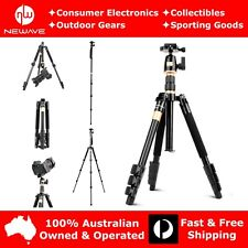 NEWAVE 55'' Professional Heavy Duty Tripod Monopod Stand 4 DSLR Camera Camcorder