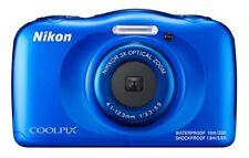 Appareils photo numériques compacts bleus Nikon