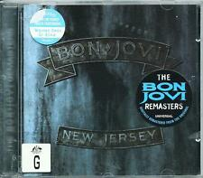 BON JOVI  *NEW JERSEY* DIGITALLY REMASTERED 1988 CD EXC.CON.