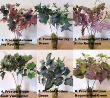 Flores secas y artificiales decorativas ramos de plástico para el hogar