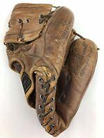 Vintage 1950's Wilson Baseball Glove Jim Piersall Autograph Model A 2200