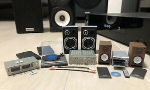 Kenelephant Capsule ONKYO Audio Miniatue collection re-ment size Full set