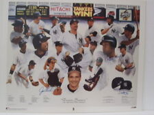 "Yankees 1998 Autographed ""Dream Season"" unframed lithograph w/ COA"