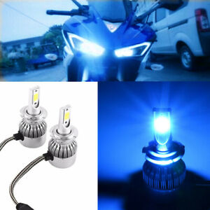 BLUE EDITION KITS  FIT FOR CBR1000 RR 2005 2006 2007 H7 LED 8000K ICE BLUE IP68